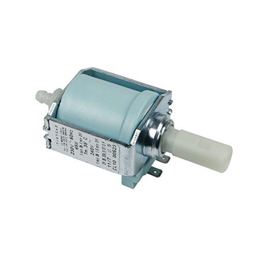 Invensys CP3B CP.3B.334.0/ST/S/P UNIVERSAL Elektropumpe Wasser Pumpe 230V 65W 15 bar z.T. XP5210 XP5220 XP5240 XP5250 XP5280 Kaffeeautomat Espressomaschine passend wie SEB Krups MS-622852 MS-622264 (15 Bar Pumpe)