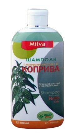 Brennnessel Shampoo–Hilft regulieren Talgproduktion, reduziert Schuppen & Ease Kopfhaut Irritationen–Für kräftige, gesunde Haare Frisieren–200ml