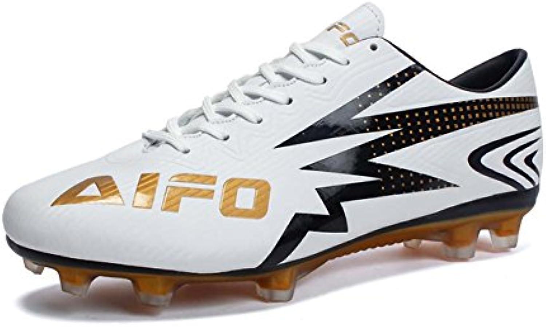 Zapatos de Fútbol para Hombres Zapatos de Entrenamiento de Fútbol Ligero y Resistente al Agua