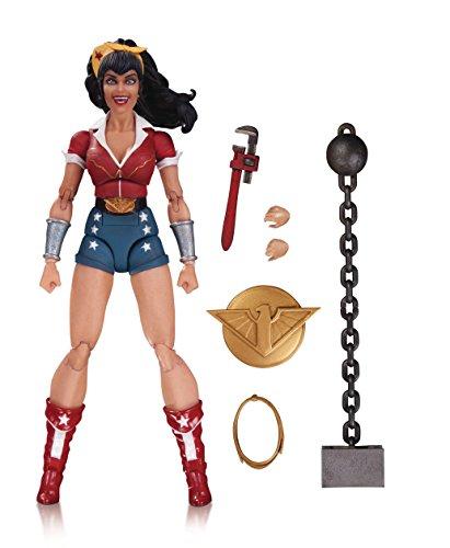 DC Designer Series: Ant Lucia Bombshells Wonder Woman Action Figure
