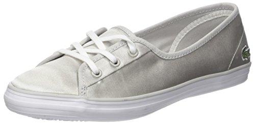 Lacoste Damen Ziane Chunky 118 2 Caw Sneaker, Grau (Lt Gry/Wht), 37.5 EU