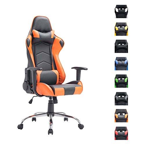 CLP Miracle, sedia da gaming ad altezza regolabile con braccioli