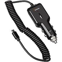 AmazonBasics - Cargador de coche universal con conector micro USB (salida de 2,1 A)