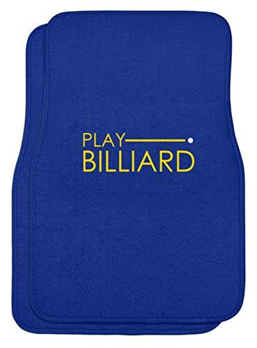 Schuhboutique Doris Finke UG (haftungsbeschränkt) Game Billiards - Automatten -44x63cm-Royal Blau
