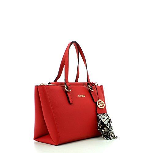 Guess Tulip, sac bandoulière Rouge