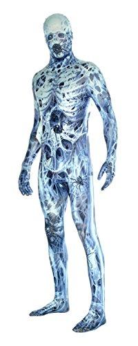 (Arachnamania Morphsuit Verkleidung, Kostüm XXLarge - 6'2-6'9 (186cm-206cm))