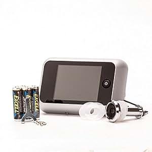 """ToniTec® Digitaler Türspion mit extra großem 3,5"""" Display u Türkamera Überwachung , für Türstärken von 38-72 mm"""