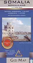 SMap of Somalia / Somaliland - By Gizimap