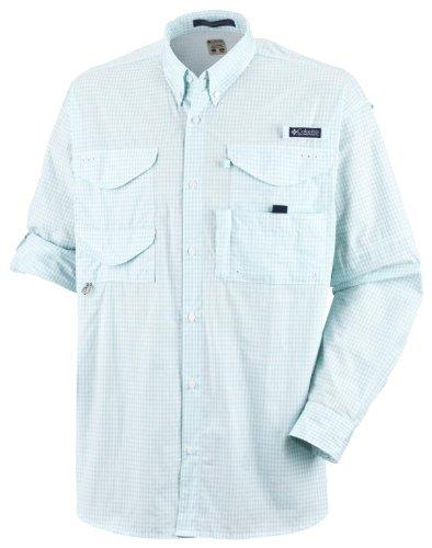 Columbia Herren Super Bonehead Classic Big & Tall Long Sleeve Shirt, Herren, Super Bonehead ClassicTM Long Sleeve Shirt, Gulf Stream Gingham, XLT - Big-tall-hemden