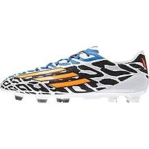 reputable site c3f30 d4b9c F50 adizero TRX FG Messi - Chaussures de Foot BlancOrange Néon