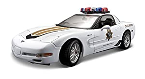Maisto 531383 Corvette Z06 Police - Modelo de Coche