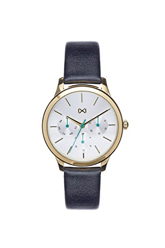 Mark Maddox Women's Analogue Quartz Watch with Leather Strap MC7103-07