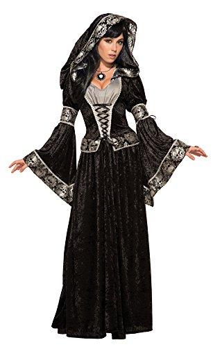 Forum Novelties 79011Dark Kostüm Zauberin, UK Größe 10–14 (Erwachsene Bösen Zauberin Halloween Kostüme)