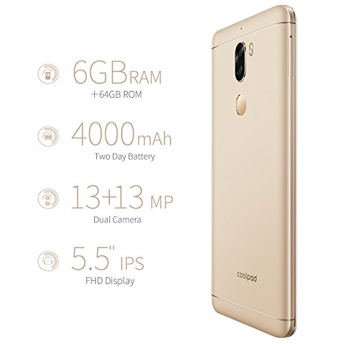 Coolpad Cool Play 6 (Gold, 6GB RAM, 64GB)