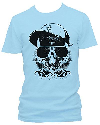 Thug Cooles Party Herren T-Shirt_hellblau_XXL
