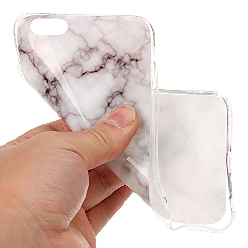 iPhone 6 Plus Hülle ,LANDEE Marmor Serie Flexible TPU Silikon Schutz Handy Hülle Handytasche HandyHülle Etui Schale Case Cover Tasche Schutzhülle für Apple iPhone 6 Plus 5.5 Zoll(6SP-DLS-004) 6SP-DLS-004