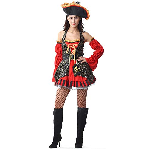 GAOJUAN Halloween Cosplay Kostüm Erwachsene Cosplay Kostüme Sexy Spaß Uniform Versuchung Videospiel Cosplay Kostüm Geeignet Für Karneval Thema Parteien Halloween Neujahr ()