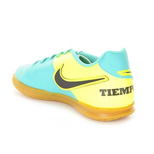 Nike - Jr Tiempox Rio III IC, Scarpe da calcio Unisex – Bimbi 0-24 Verde (Verde (Clear Jade / Black-Volt))