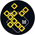 Slipmat Factory Poker Flat Black Yellow SLIPMAT, 2-Pack