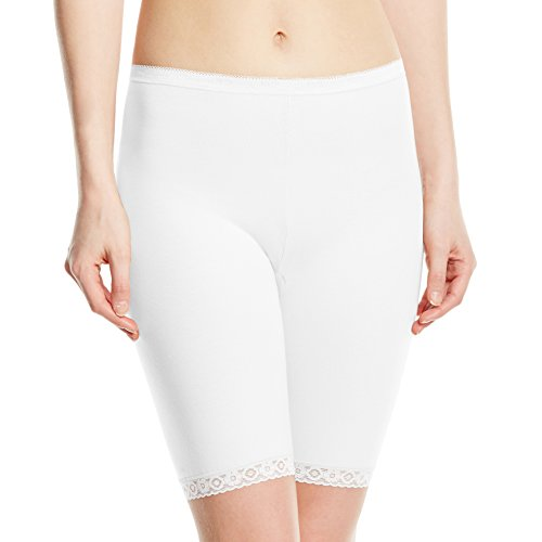 Sloggi Damen Slip Basic + Long, Weiß (White 03), Gr. 54