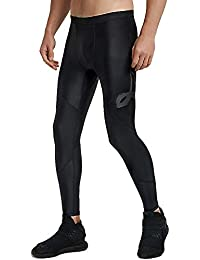 ce2c787f95fbf LAFROI Men's UPF 50+ Baselayer Quick Dry Cool Compression Tights Pants  Leggings with Drawstring