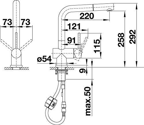 BLANCO Lomis S Küchenarmatur - 7