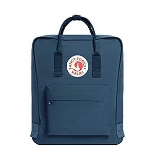 KALIDI- Mochila Unisex de Estudiante, Mochila Escolar del Ordenador Portátil, Bolso Portátil Resistente de Oxford Durable, Azul Marino