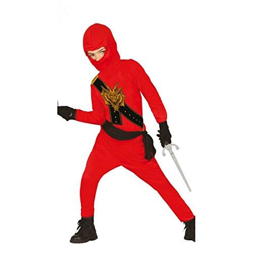 tüm für Kinder Gr. 98 - 146, Größe:140/146 (Halloween-ninja Kostüme)