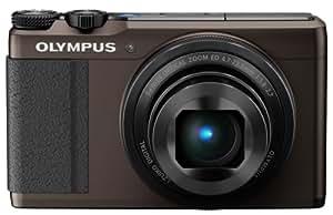 Olympus STYLUS XZ-10 Digital Camera - Brown (12MP, 5x i.Zuiko Wide Optical Zoom) 3 inch Touch LCD