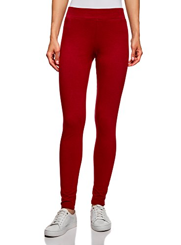 Legging femme rouge