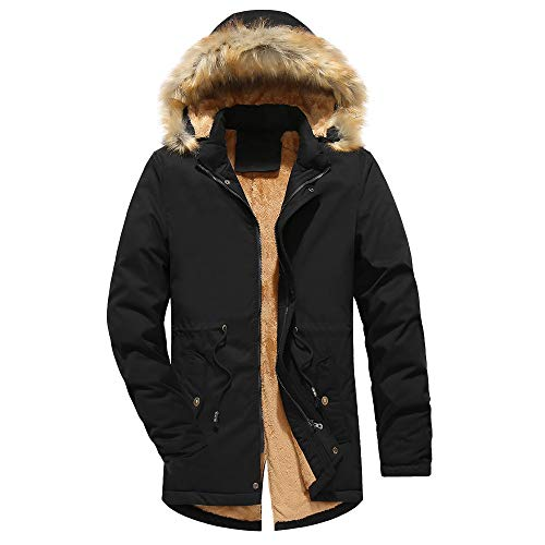 Sannysis Herren Jacke Herbst & Winter Langarm Übergangsjacke Männer Camouflage Bluse Verdickung Mantel Outwear Top Bluse Große Größe