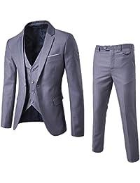 Amazon.it  Grigio - Abiti e giacche   Uomo  Abbigliamento f6d4a58a798