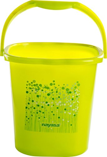 Nayasa Square Ring 20 Funk Bucket (18 Litres) (Green)