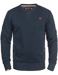 SOLID Benn O-Neck Herren Sweatshirt Pullover Sweater mit Rundhals-Ausschnitt aus hochwertiger Baumwollmischung