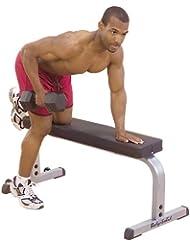 Body Solid - Banco de musculación plano