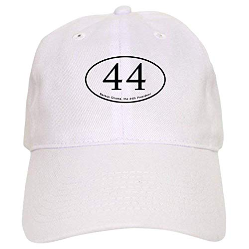 Barack Obama, 44Th President - Baseball Cap with Adjustable Closure, Unique Printed Baseball Hat