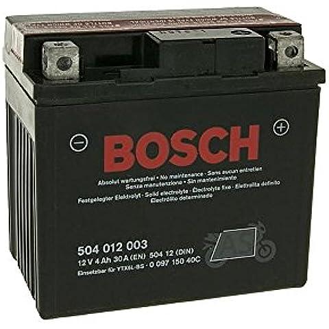 Bosch ytx5l de BS 12V Batería para CPI Oliver Sport 25/50Ac, palomitas 25/50Ac, Honda CG 125m [Incluye 7,50Euro batería