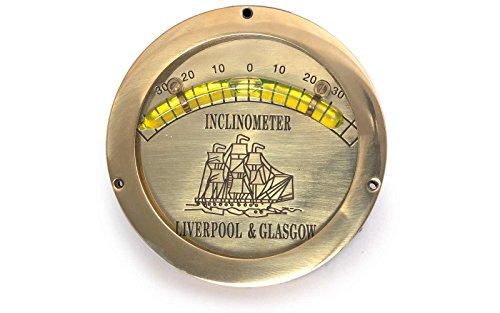 Neigungsmesser Clinometer Aus Messing Durchmesser 11 cm