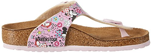 Birkenstock Gizeh, Tongs fille Lovely Minnie Rose