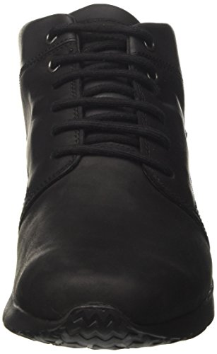 Geox Herren U Gektor B ABX A Hohe Sneaker Schwarz (Black)