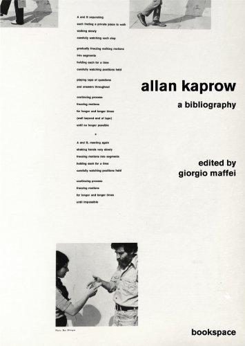 Portada del libro Allan Kaprow: A Bibliography (Bookspace) by Maffei Giorgio (2011-11-03)
