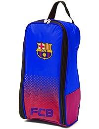 Barcelona FC Football Boots Bag Kit Blue Red Fade Design Badge Crest Official