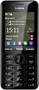 Nokia 206 DUAL Téléphone Mobile Compact