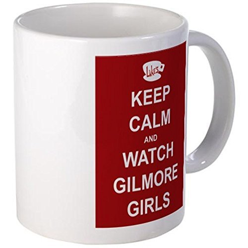 CafePress Mug - Keep Calm Watch Gilmore Girls Mug - S White by CafePress