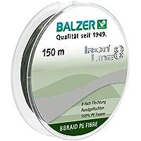 Balzer Iron Line 8-fach geflochtene Angelschnur - verschiedene Farben - Diverse Schnurstärken