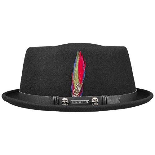 chapeau-pennsylvania-pork-pie-stetson-chapeau-de-feutre-chapeau-dzexterieur-m-56-57-noir