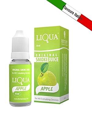 E-liquid LIQUA für Zigarette-e Geschmack Apfel [OHNE NIKOTIN] von RITCHY