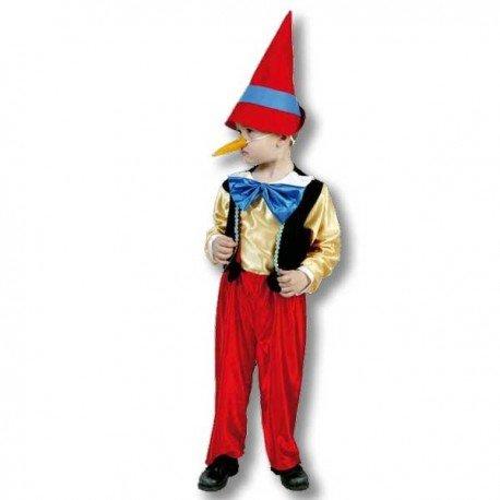 Disfraz de Pinocho 1-2 años