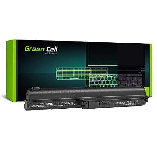 Green Cell Extended Serie VGP-BPS26A/VGP-BPS26/VGP-BPL26 Akku für Sony Vaio SVE15 SVE1511C5E SVE151E11M SVE151G13M Laptop (9 Zellen 6600mAh 10.8V Schwarz)
