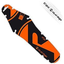 riesel Diseño Ríe: ZE guardabarros Sillín Protección contra salpicaduras bicicleta carreras hinterrad| Fixie | MTB | Triatlón, orange 2017